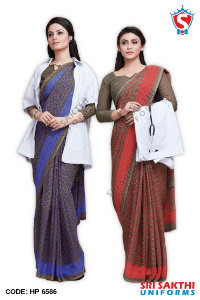 Doctor Uniform Sarees Wholesaler