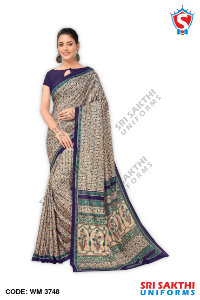 Ladies Uniform Sarees