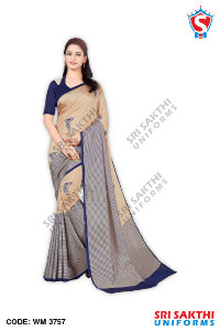 Lady Plain Sarees