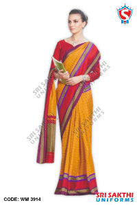 Malgudi Silk Uniform Sarees Catalog