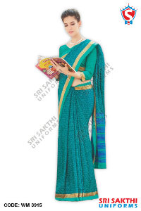 Malgudi Silk Uniform Sarees Catalogs