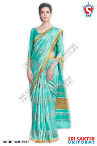 Malgudi Silk Uniform Sarees Dealers