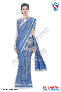 Malgudi Silk Uniform Sarees Distributor