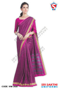 Malgudi Silk Uniform Sarees Manufacturer