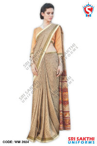 Malgudi Silk Uniform Sarees Suppliers