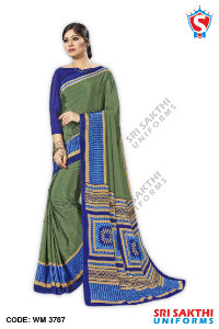 Plain Uniform Sarees Dealer
