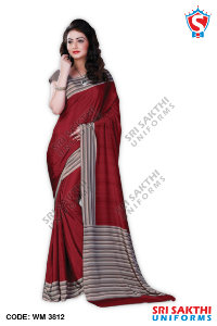 Plain Uniform Sarees Dealers