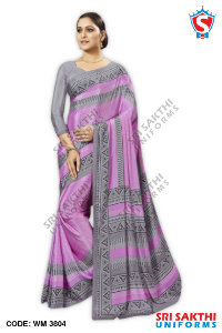 Plain Uniform Sarees Retailer