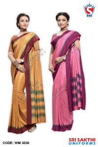 Plain Uniform Sarees Retailers