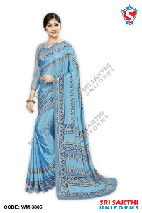 Plain Uniform Sarees Wholesaler