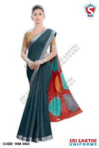 Silk Cotton Uniform Sarees Dealers