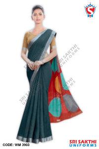 Silk Cotton Uniform Sarees Dealers