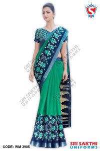 Silk Cotton Uniform Sarees Distributors