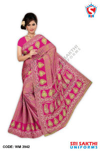Silk Crape Saree Distributor