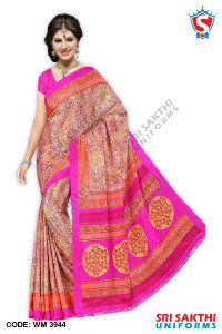 Silk Crape Saree Manufacturer