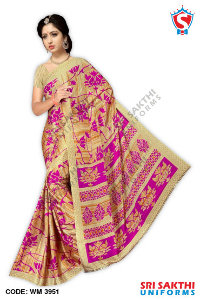 Silk Crape Saree Supplier