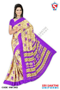 Silk Crape Saree Suppliers