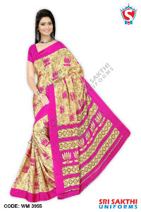 Silk Crape Saree Wholesaler