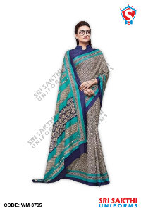 Staff Uniform Sarees Catalog