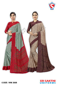 Staff Uniform Sarees Dealers