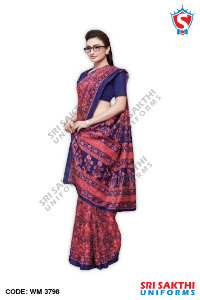 Staff Uniform Sarees Manufacturer