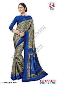 Staff Uniform Sarees Manufacturers