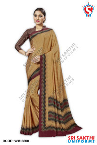 Staff Uniform Sarees Supplier