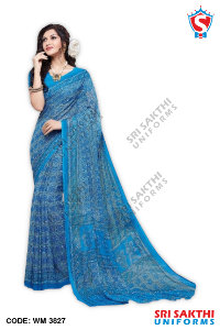 Staff Uniform Sarees Suppliers