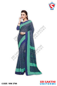 Staff Uniform Sarees Wholesaler