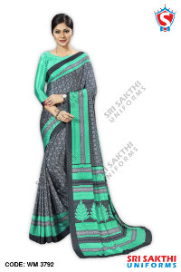 Teachers Uniform Sarees Catalogs