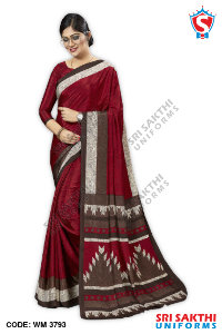 Teachers Uniform Sarees Dealers