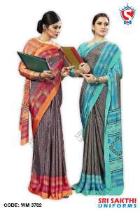 Teachers Uniform Sarees Manufacturer
