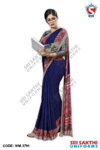 Teachers Uniform Sarees Manufacturers