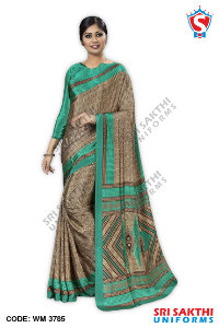 Teachers Uniform Sarees Wholesaler