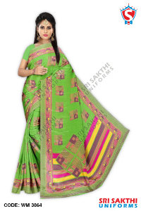 Turkey Crape Uniform Sarees Retailers