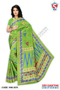Turkey Crape Uniforms Sarees Catalogs