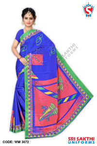 Turkey Crape Uniforms Sarees Dealers