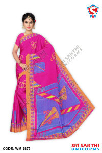 Turkey Crape Uniforms Sarees Distributor
