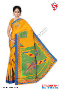 Turkey Crape Uniforms Sarees Distributors