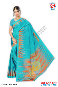 Turkey Crape Uniforms Sarees Manufacturer