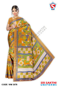 Turkey Crape Uniforms Sarees Retailers