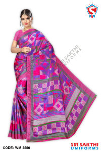 Turkey Crape Uniforms Sarees Suppliers