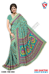 Wholesalers Silk Crape Saree