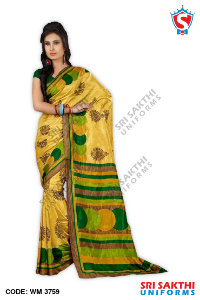 Women Plain Sarees
