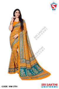 Women Uniform Sarees