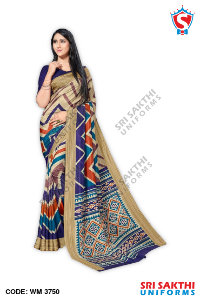 Womens Uniform Sarees